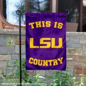 Louisiana State University Country Garden Flag