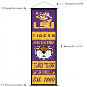 Louisiana State University Decor and Banner