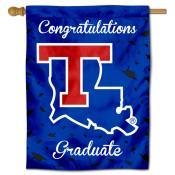 Louisiana Tech Bulldogs Congratulations Graduate Flag
