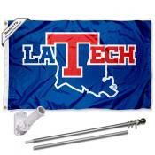 Louisiana Tech Bulldogs Flag Pole and Bracket Kit