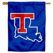Louisiana Tech Bulldogs Logo Double Sided House Flag