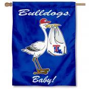 Louisiana Tech Bulldogs New Baby Flag