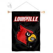 Louisville Cardinals Banner with Suction Cup