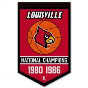 Louisville Cardinals Basketball National Champions Banner