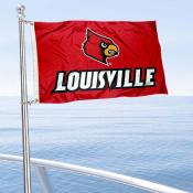 Louisville Cardinals Boat and Mini Flag
