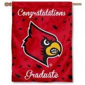 Louisville Cardinals Congratulations Graduate Flag