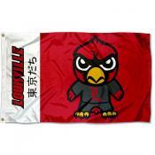 Louisville Cardinals Kawaii Tokyodachi Yuru Kyara Flag