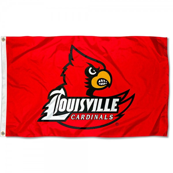 Louisville Cards Flag measures 3'x5', is made of 100% poly, has quadruple stitched sewing, two metal grommets, and has double sided Team University logos. Our Louisville Cards Flag is officially licensed by the selected university and the NCAA.