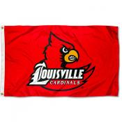 Louisville Cards Flag