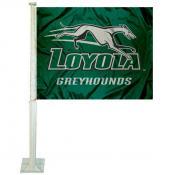 Loyola Greyhounds Logo Car Flag