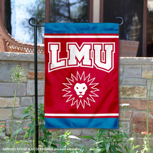 Loyola Marymount Lions Garden Flag is 13x18 inches in size, is made of 2-layer polyester, screen printed logos and lettering. Available with Same Day Express Shipping, Our Loyola Marymount Lions Garden Flag is officially licensed and approved by the NCAA.