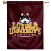 Loyola Ramblers New Wordmark Banner Flag