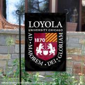 Loyola University Chicago Academic Logo Garden Flag