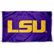 LSU 3x5 Flag