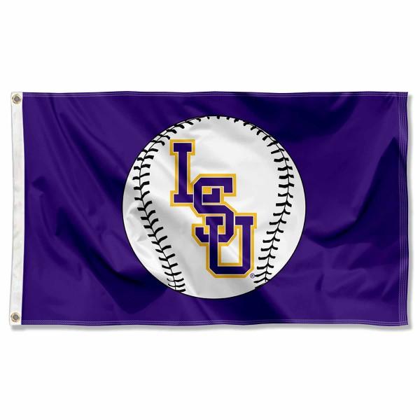 Lsu Baseball Flag And Flag For Tigers