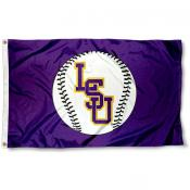 LSU Baseball Flag