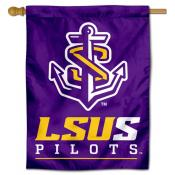LSU Shreveport Double Sided House Flag