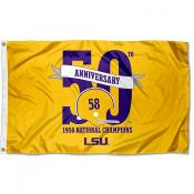 LSU Tigers 1958 National Champions Flag