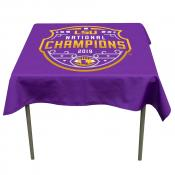 LSU Tigers 2019 National Football Championship Table Cloth