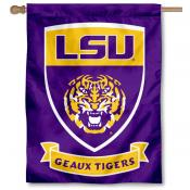 LSU Tigers Geaux Tigers House Flag