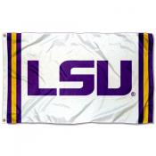 LSU Tigers Jersey Stripes Flag