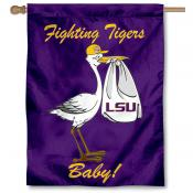 LSU Tigers New Baby Flag