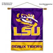 LSU Tigers Wall Banner