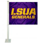 LSUA Generals Logo Car Flag
