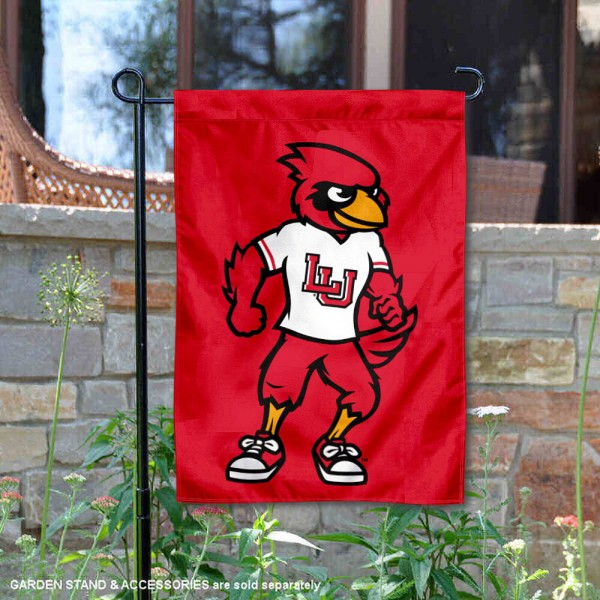 LU Cardinals Big Red Mascot Garden Flag is 13x18 inches in size, is made of 2-layer polyester, screen printed university athletic logos and lettering. Available with Same Day Express Shipping, our LU Cardinals Big Red Mascot Garden Flag is officially licensed and approved by the university and the NCAA.