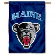 Maine Black Bears Double Sided Banner