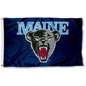 Maine Black Bears Logo Flag