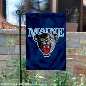 Maine Black Bears Logo Garden Flag