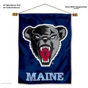 Maine Black Bears Wall Banner