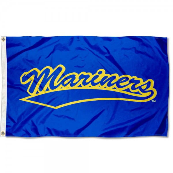 Maine Maritime Mariners Flag measures 3x5 feet, is made of 100% polyester, offers quadruple stitched flyends, has two metal grommets, and offers screen printed NCAA team logos and insignias. Our Maine Maritime Mariners Flag is officially licensed by the selected university and NCAA.