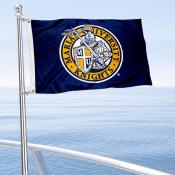 Marian Knights Boat and Mini Flag