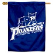 Marietta College Pioneers Double Sided House Flag