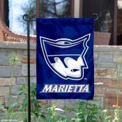 Marietta College Pioneers Logo Garden Flag