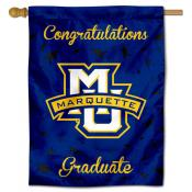 Marquette Golden Eagles Congratulations Graduate Flag