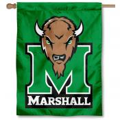 Marshall University Kelly Green House Flag