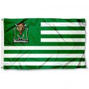 Marshall University Stripes Flag
