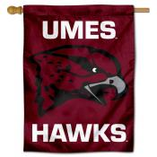 Maryland Eastern Shore Hawks Double Sided House Flag