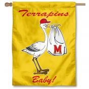 Maryland Terps New Baby Flag