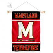 Maryland Terps Window and Wall Banner