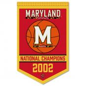 Maryland Terrapins Basketball National Champions Banner