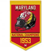 Maryland Terrapins Football National Champions Banner