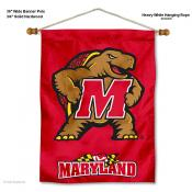 Maryland Terrapins Wall Banner