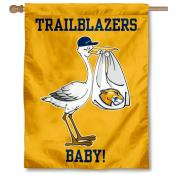 Massachusetts College of Liberal Arts Trialblazers New Baby Flag
