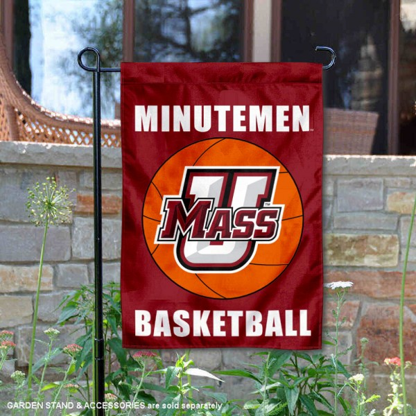 Massachusetts Minutemen Basketball Garden Banner is 13x18 inches in size, is made of 2-layer polyester, screen printed athletic logos and lettering. Available with Same Day Express Shipping, Our Massachusetts Minutemen Basketball Garden Banner is officially licensed and approved by the school and the NCAA.