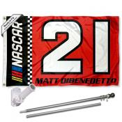 Matt Dibenedetto Flag Pole and Bracket Mount Kit