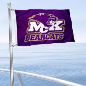 McKendree Bearcats Boat and Mini Flag